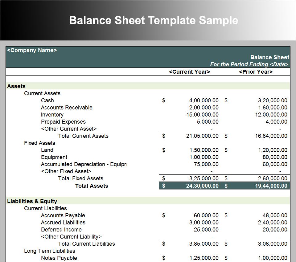 Excel Spreadsheet Balance Sheet In Balance Sheet Template For Small Business Xls Free Sample Invoice