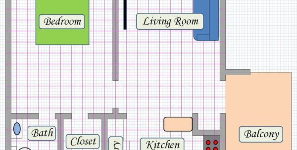 Excel Spreadsheet Bed Sheets Pertaining To Create Floor Plan Using Ms Excel: 5 Steps With Pictures