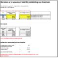 Excel Spreadsheet Boekhouden Throughout Middeling Inkomen  Boekhouden In Excel  Handleiding Excel
