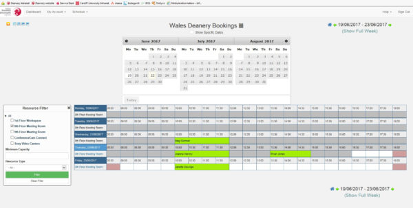 Excel Spreadsheet Booking System Pertaining To Wales Deanery Launches New Room Booking System  Dental Postgraduate