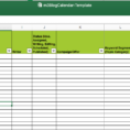 Excel Spreadsheet Calendar Template Pertaining To Editorial Calendar Templates For Content Marketing: The Ultimate List