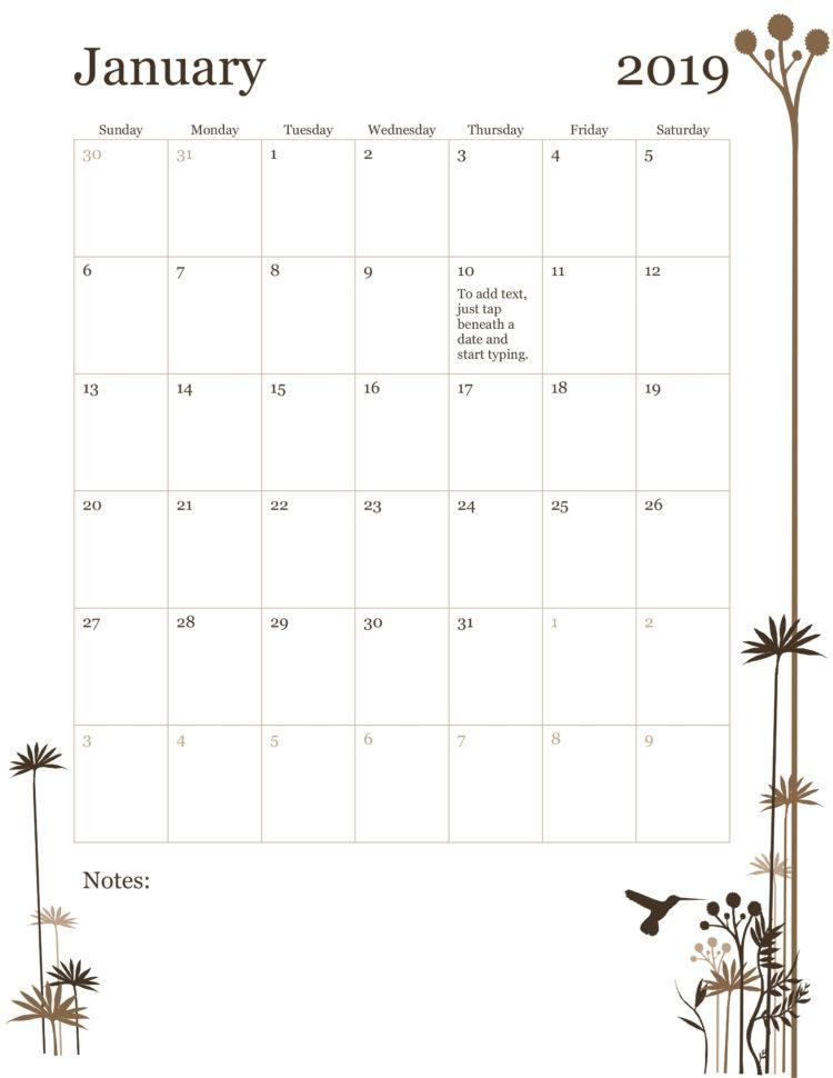 Excel Spreadsheet Calendar Template Throughout Calendars  Office