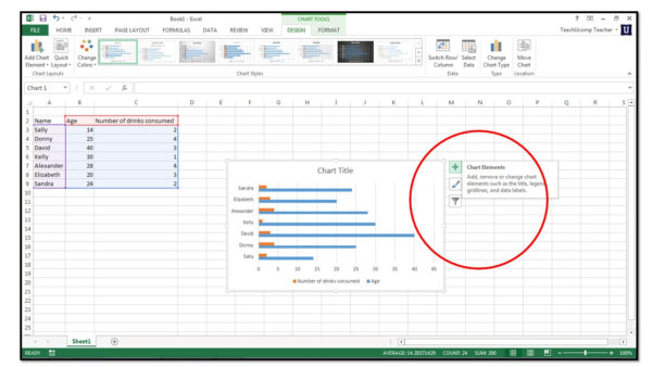 Excel Spreadsheet Charts Intended For How To Insert Charts Into An Excel Spreadsheet In Excel 2013