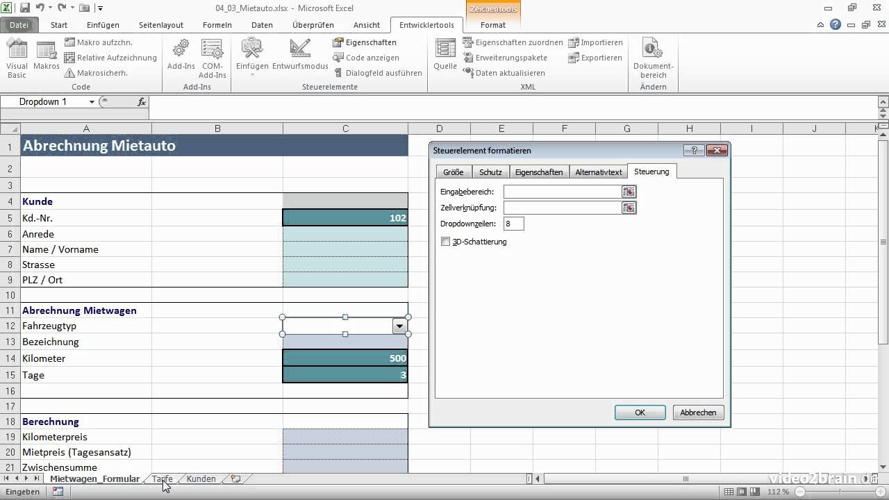 Excel Spreadsheet Erstellen within 15+ Excel Dropdown Erstellen 2010  Ctcte