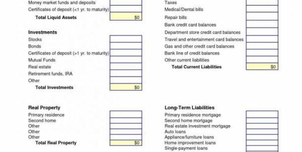 Excel Spreadsheet Financial Statement Regarding Real Estate Financial Statement Template Excel Spreadsheet Awal Mula