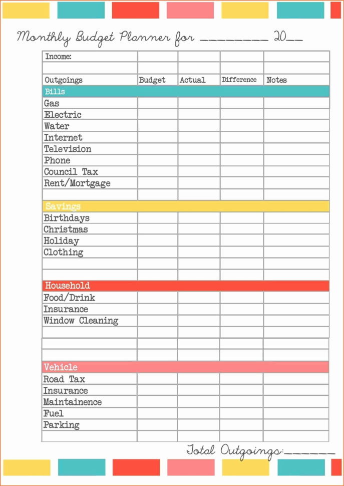 Excel Spreadsheet For Business Expenses Free In Free Business Expense Tracker Template Spreadsheet Excel Budget