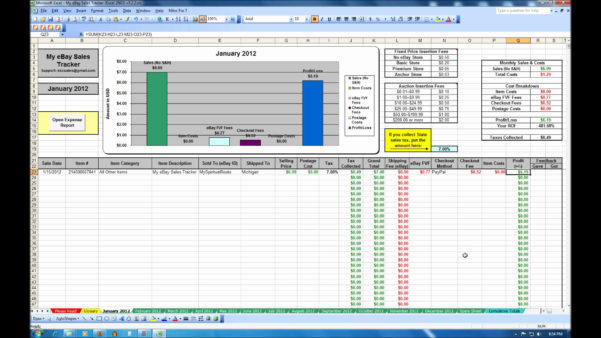 Excel Spreadsheet For Ebay Sales In Excel Spreadsheet For Ebay Sales – Spreadsheet Collections