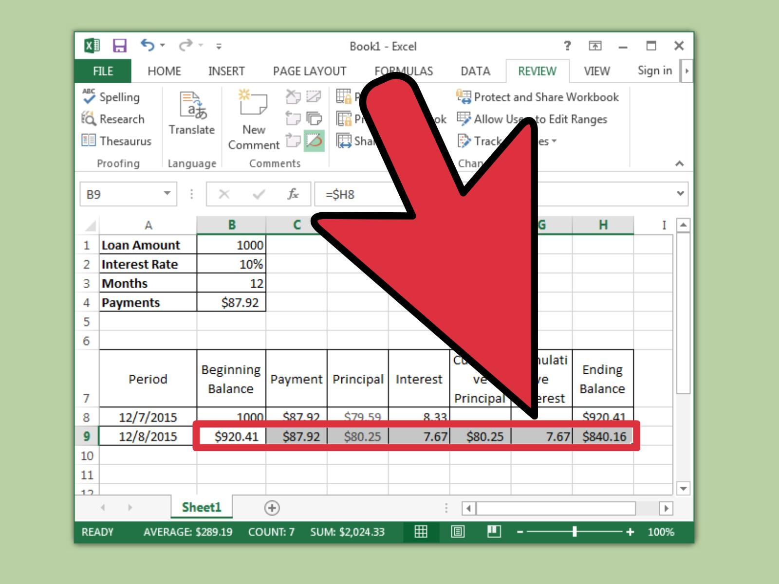 Excel Spreadsheet For Loan Payments Throughout How To Prepare Amortization Schedule In Excel: 10 Steps
