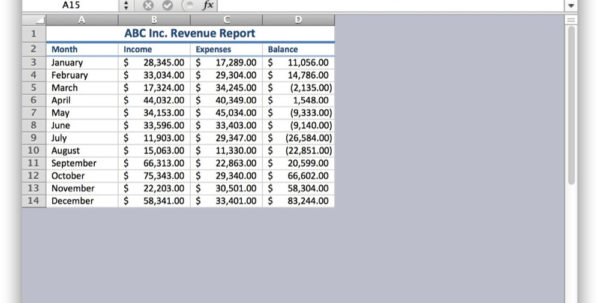 Excel Spreadsheet For Mac Intended For How To Hide Cells In Excel For Mac Os X  Tekrevue