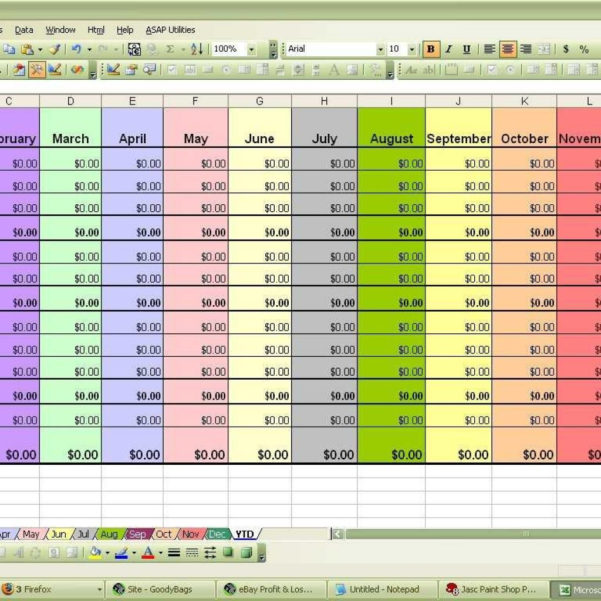 Excel Spreadsheet For Monthly Expenses In Samples Of Excel Spreadsheets Examples For Business Budgeting