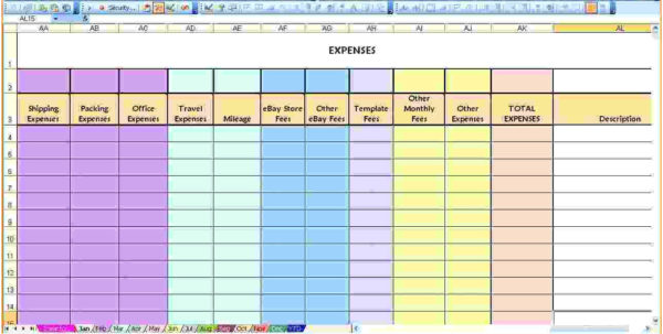 Excel Spreadsheet For Monthly Expenses Throughout Famous Spending Report Template Pictures Example Resume Monthly