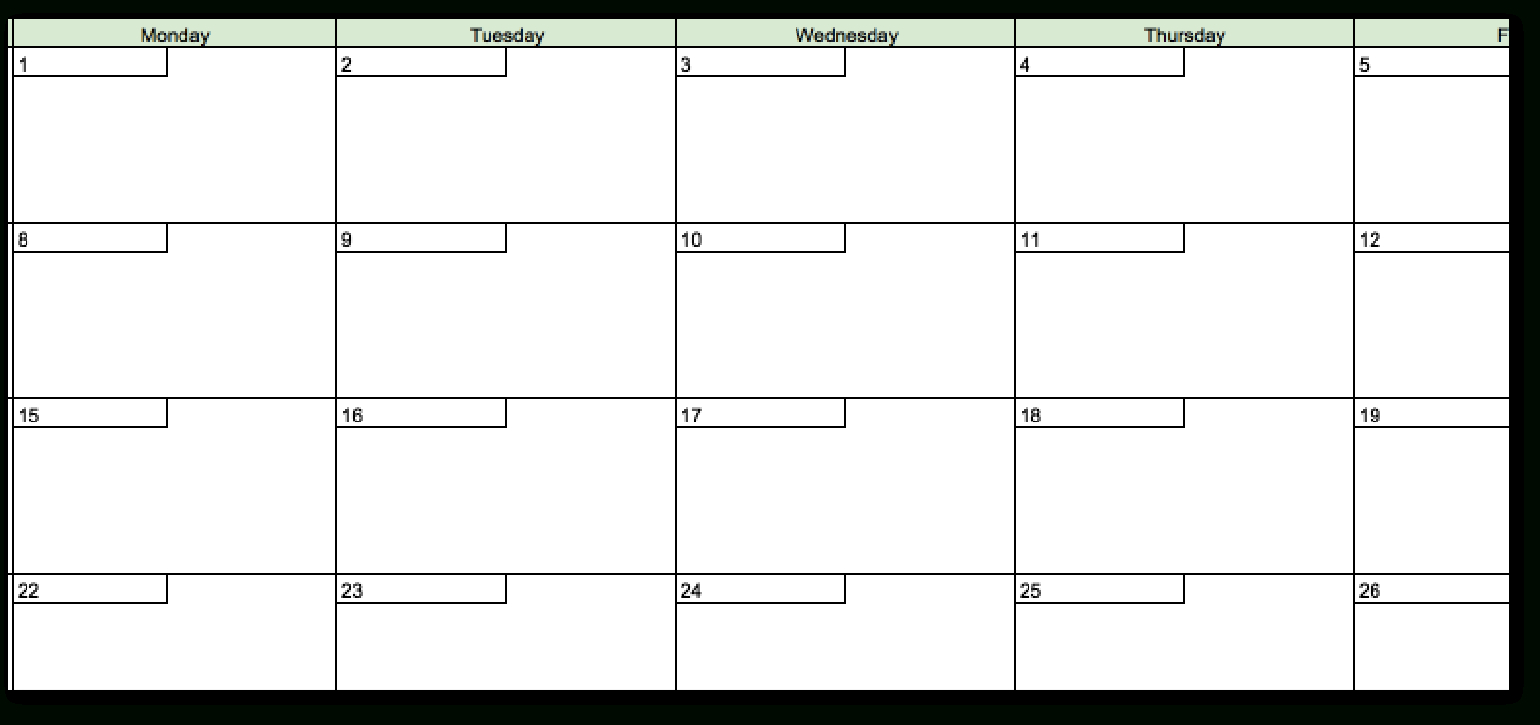 Excel Spreadsheet For Network Marketing Throughout The Best 2019 Content Calendar Template: Get Organized All Year