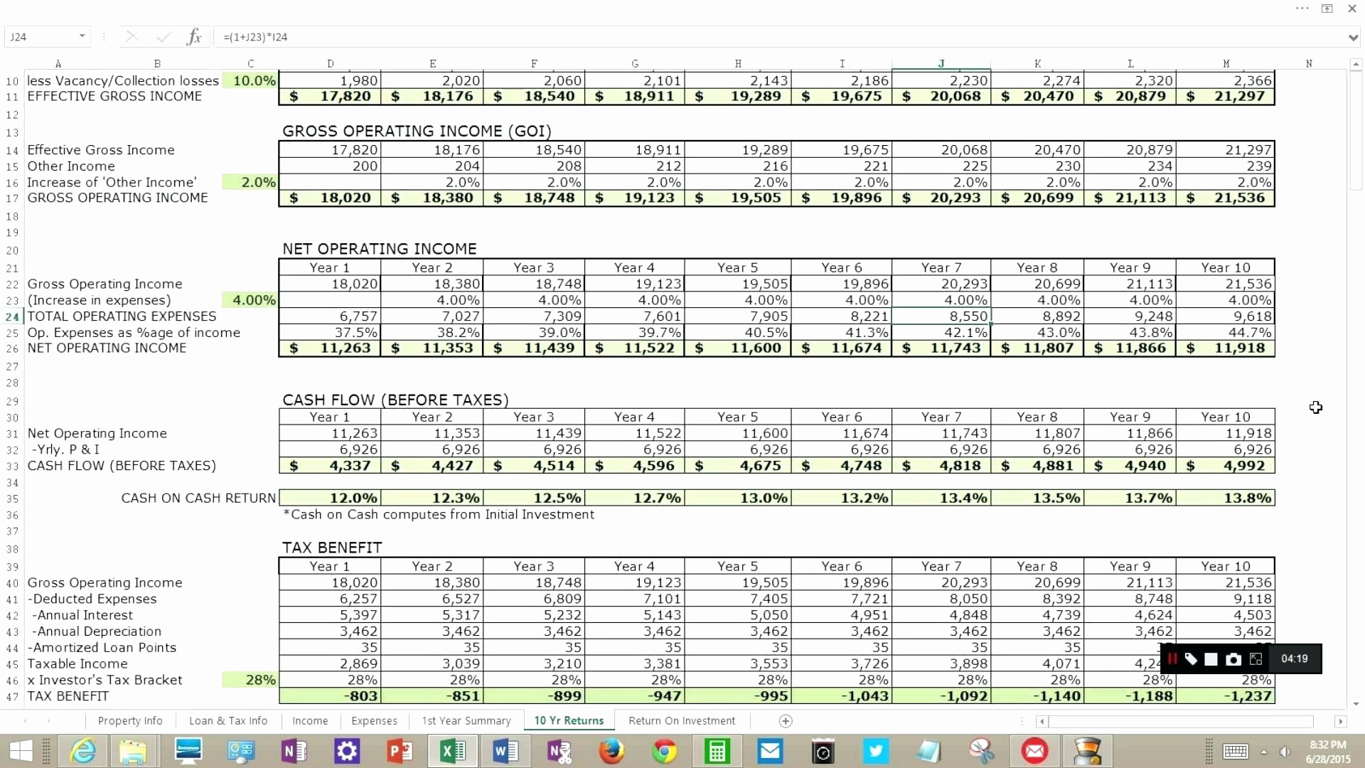 Excel Spreadsheet For Real Estate Investment In Real Estate Investment Analysis Excel Spreadsheet – Spreadsheet