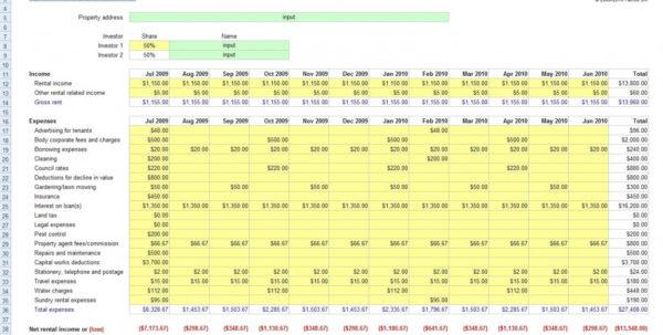 Excel Spreadsheet For Rental Property Management Pertaining To Property Management Spreadsheet Free Rental Incel For Income