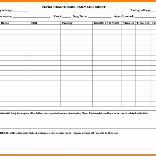 Excel Spreadsheet For Taxi Drivers For Driver Daily Log Sheet Template Truck Taxi Free Drivers Invoice