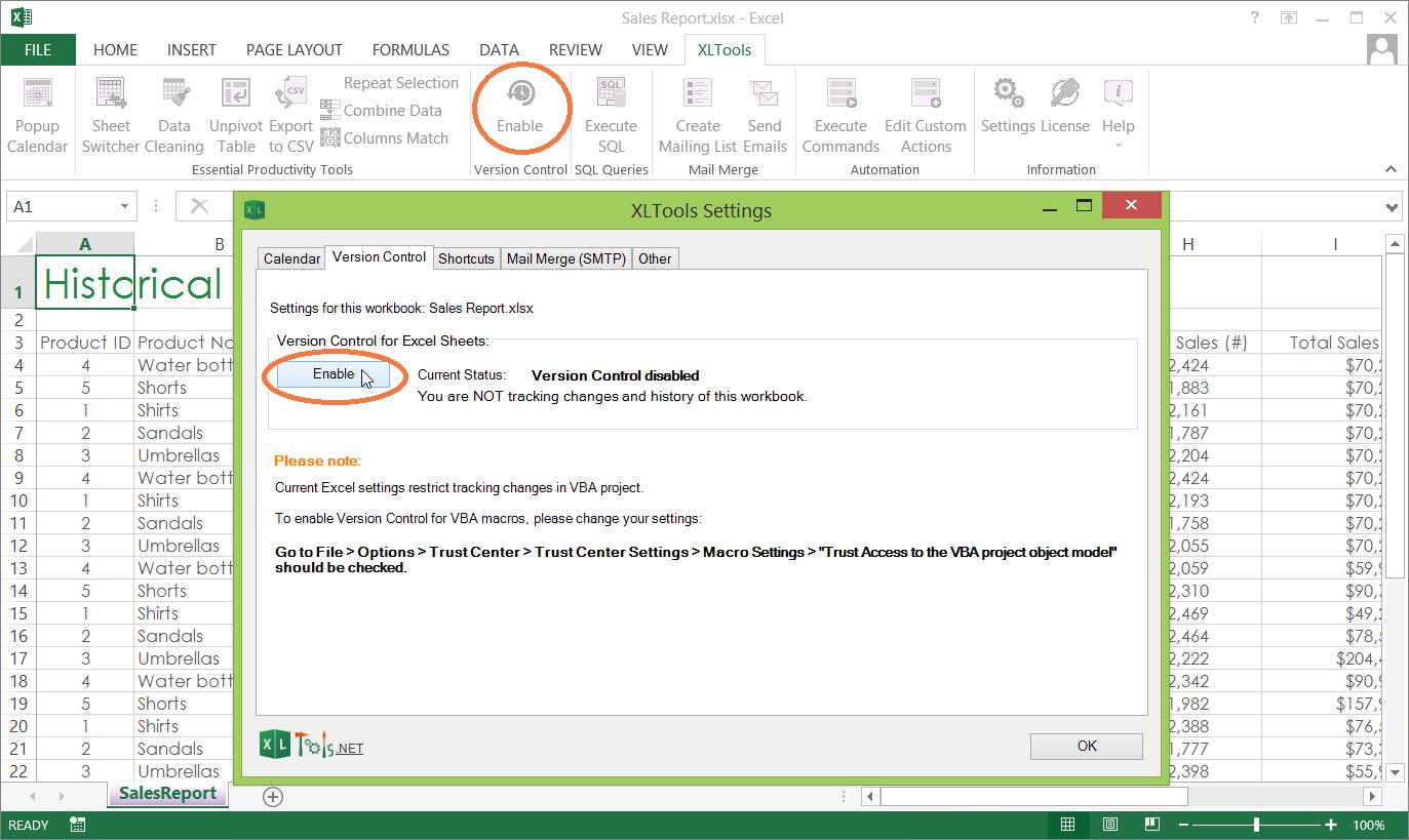 Excel Spreadsheet For Tracking Tasks Shared Workbook Regarding Version Control For Excel Spreadsheets  Xltools – Excel Addins You