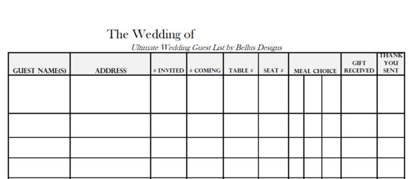 Excel Spreadsheet For Wedding Guest List With Wedding Rsvp Tracker Spreadsheet On App For Android Compare Excel