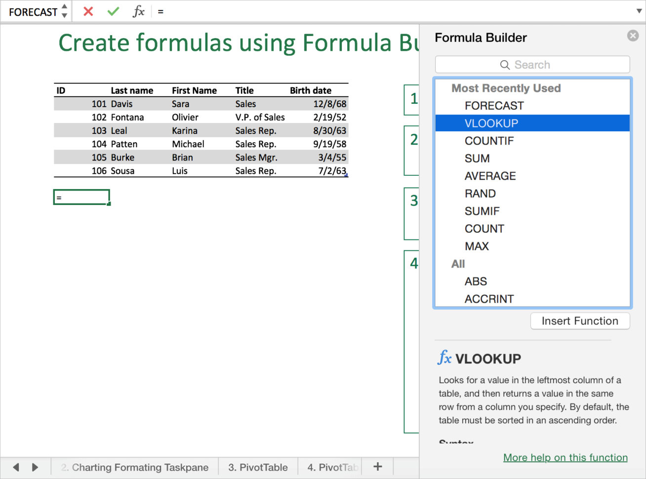 Excel Spreadsheet Formatting Tips Within 8 Tips And Tricks You Should Know For Excel 2016 For Mac  Microsoft