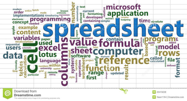 Excel Spreadsheet In Word In Word Cloud Excel Spreadsheet Free Ash Database Invoice Template
