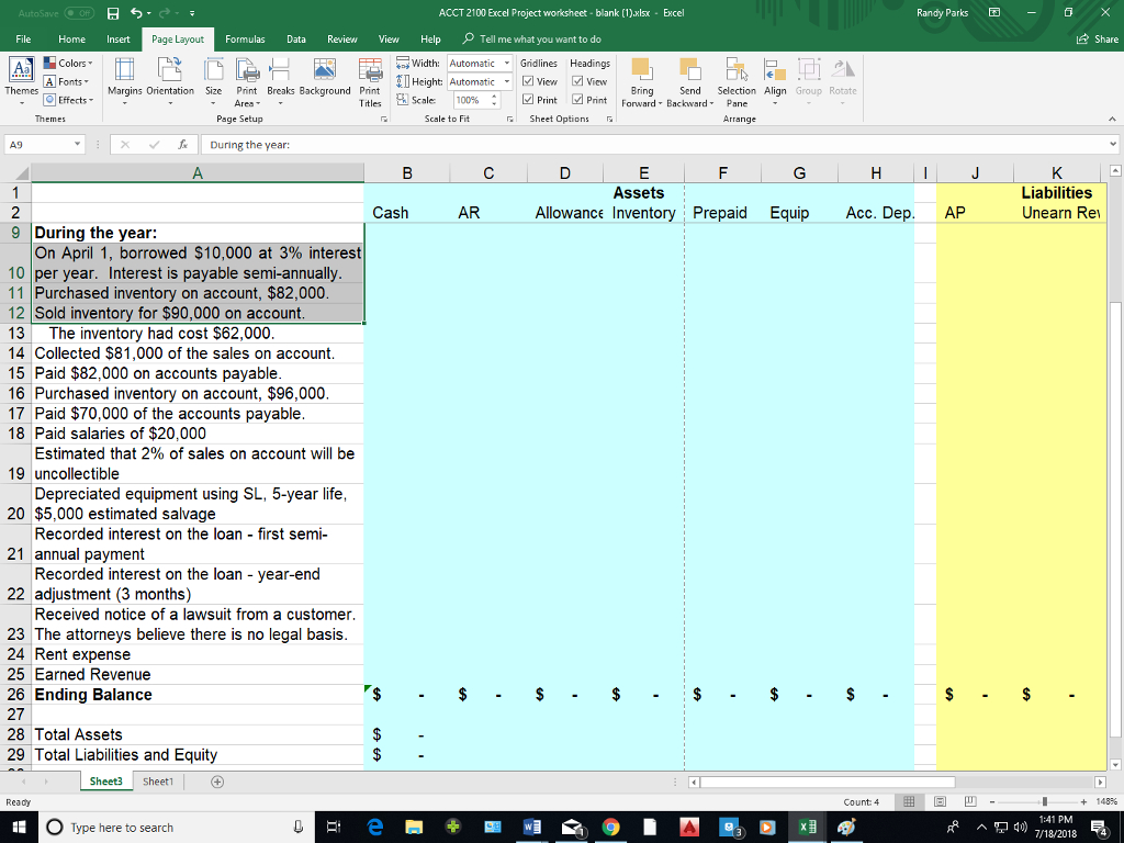 Excel Spreadsheet Jobs From Home Inside Solved: We Are Asked To Fill In The Excel Spreadsheet And