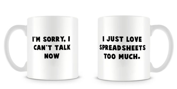 Excel Spreadsheet Mug Throughout I Heart Excel Mug  Laobing Kaisuo