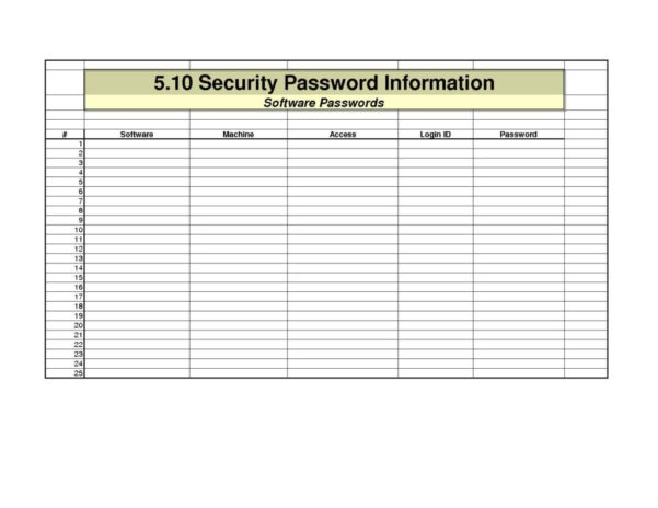 Excel Spreadsheet Password Recovery For Excel Spreadsheet Password Recovery Password Spreadsheet Template