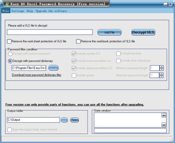 Excel Spreadsheet Password Recovery Inside Free Easy Do Excel Password Recovery  Download
