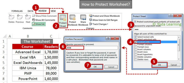 Excel Spreadsheet Password Recovery Pertaining To Learn How To Lock Cells In Excel  How To Create Password Protect Excel?