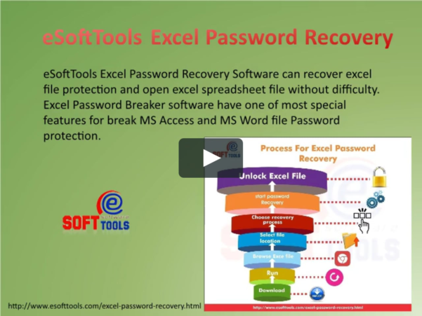 Excel Spreadsheet Password Recovery Within Esofttools Excel Password Recovery On Vimeo