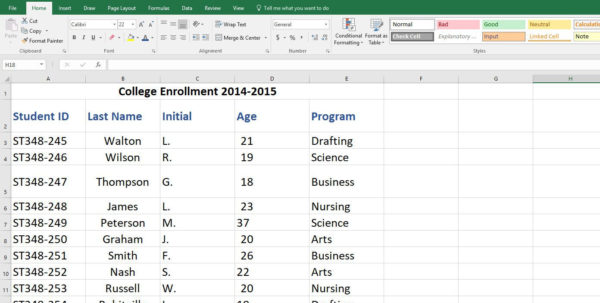 Excel Spreadsheet Pivot Table Inside Excel Spreadsheet Pivotble Examples From Another Workbook Create