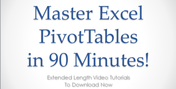 Excel Spreadsheet Practice Pivot Tables With Excel Pivot Tables Video Training, Video Tutorials For Excel Pivot