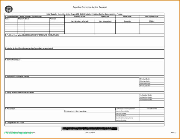 Excel Spreadsheet Problem Solving Pertaining To 8D Problem Solving Template Excel – Spreadsheet Collections