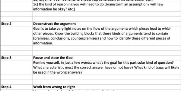 Excel Spreadsheet Questions With Regard To How To Master Every Critical Reasoning Question Type