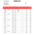 Excel Spreadsheet Report Templates Intended For Annual Sales Report Template Spreadsheet Word Format In Excel Free