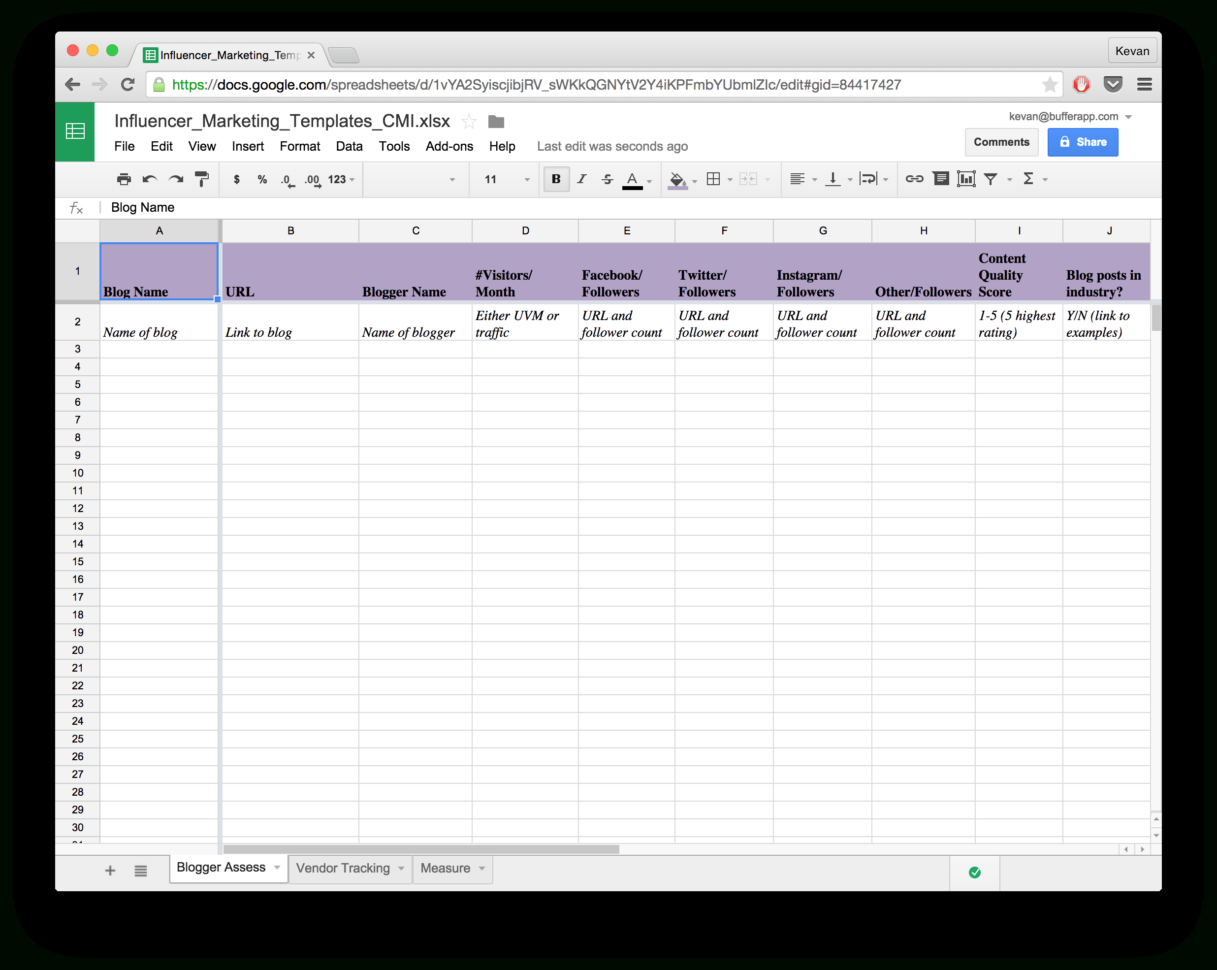 Excel Spreadsheet Report Templates Regarding 15 New Social Media Templates To Save You Even More Time