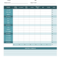 Excel Spreadsheet Report Templates Throughout Simple Expense Report Template Expenses Travel Form Excel
