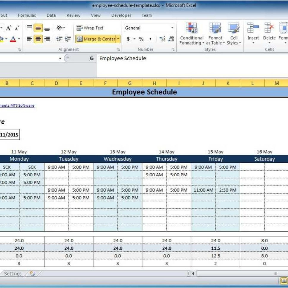 Excel Spreadsheet Scheduling Employees Inside Excel Spreadsheet For Scheduling Employee Shifts  Stalinsektionen Docs