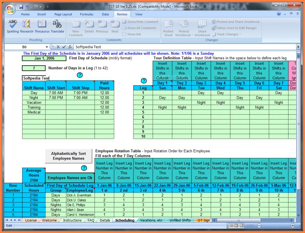 Excel Spreadsheet Scheduling Employees Pertaining To Excel Spreadsheet For Scheduling Employee Shifts Schedule