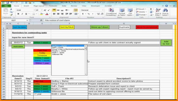 Excel Spreadsheet Task List Template With 9  Excel Spreadsheet To Do List Template  Gospel Connoisseur