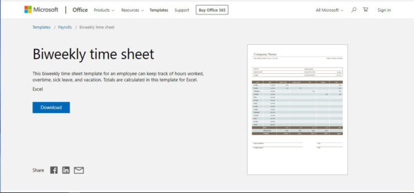 Excel Spreadsheet Template For Timesheet Inside Free Excel Time Sheet Template