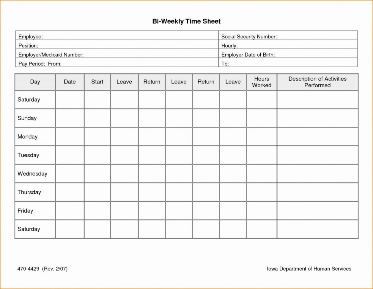 Excel Spreadsheet Template For Timesheet Intended For 025 Weekly Timesheet Template Excel Lovely Employee Timecard Best