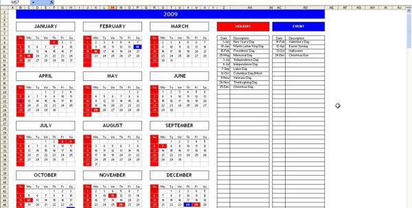 Excel Spreadsheet Templates Calendar For Calendar Spreadsheet Template  Hashtag Bg