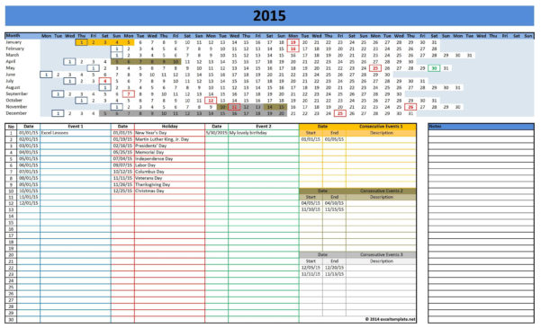 Excel Spreadsheet Templates Calendar With Best Photos Of 2015 Monthly Calendar Template Excel Spreadsheet For