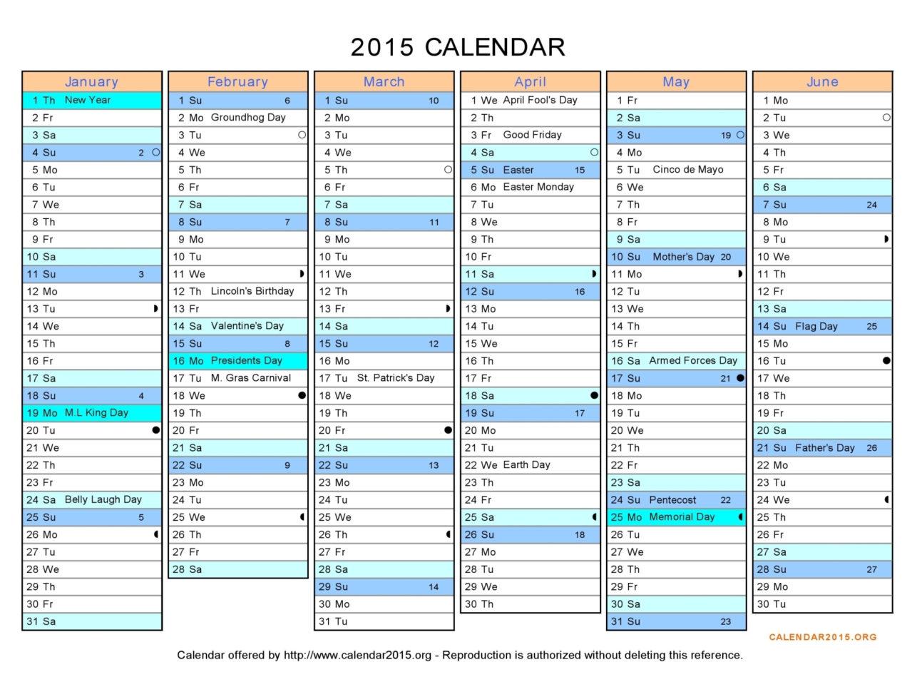 Excel Spreadsheet Templates Calendar Within Downloadable Calendar 2015 Excel  Kasare.annafora.co