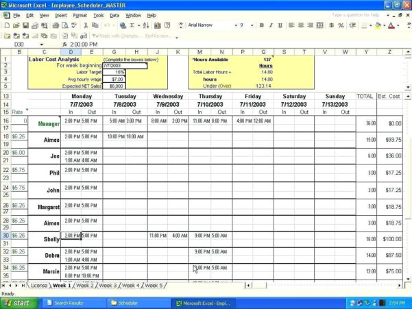 Excel Spreadsheet Test Free For Template High Levelt Plan Excel Spreadsheet Schedule Microsoft