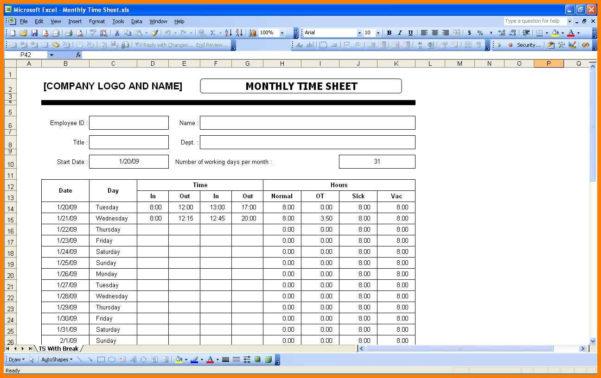 Excel Spreadsheet Timesheet With 6  Excel Spreadsheet Timesheet  Gospel Connoisseur
