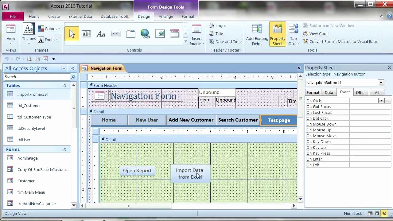 Excel Spreadsheet To Access Database Inside Convert Excel Spreadsheet To Access Database 2010 For Excel To
