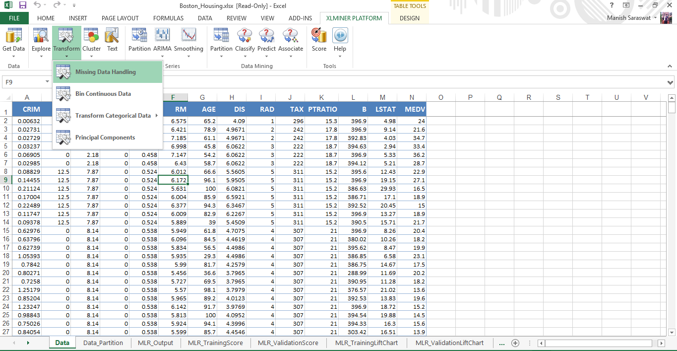 Excel Spreadsheet To Check Lottery Numbers Throughout Getting Started With Machine Learning In Ms Excel Using Xlminer