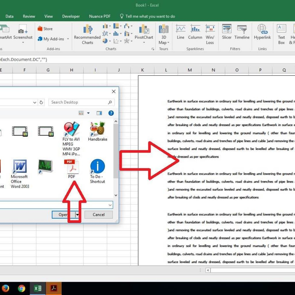 Excel Spreadsheet To Pdf Intended For Convert Pdf To Excel Spreadsheet Online And Convert A Pdf File To