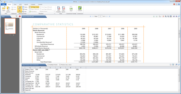 Excel Spreadsheet To Pdf With Regard To 10 Best Pdf To Excel Converters For Windows Free Download  Talkhelper